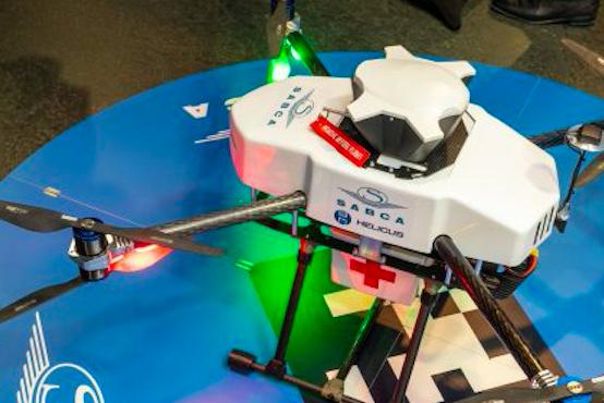 Emerce Health: 'Medicijnvervoer per drone cruciaal voor dringende diagnosestelling'